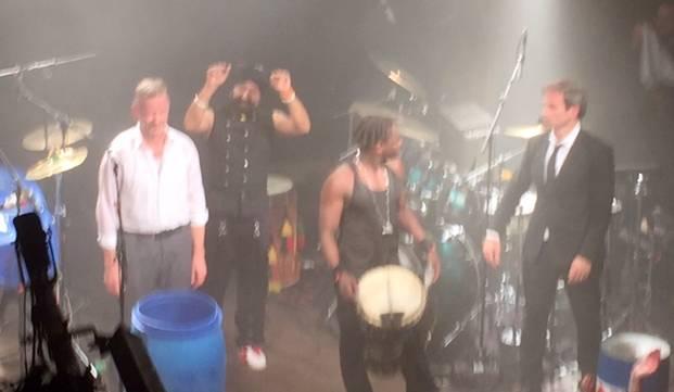 """""""Drum the world"""" mit Oded Kafri, Christian Von Richtofen, Bouba Fall und Johnny Kalsi hautnah"""